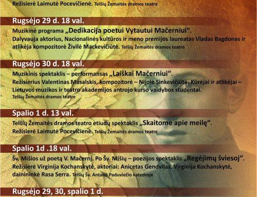 """Vaikų ir jaunimo festivalio """"Teatras – tautos sparnai 2021"""" programa"""